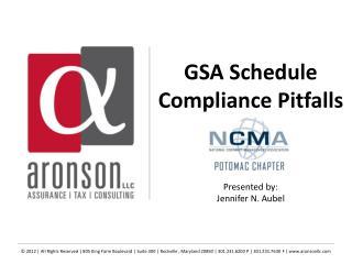 GSA Schedule Compliance Pitfalls