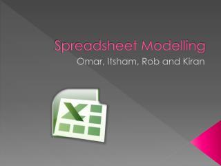 Spreadsheet Modelling