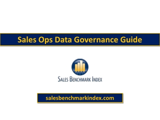 Sales Ops Data Governance Guide