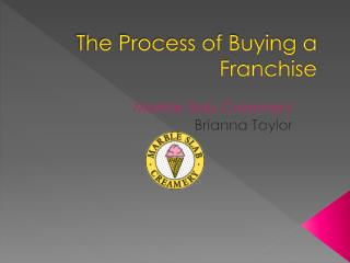 The Process of Buying a Franchise