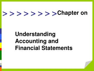 Understanding Accounting and Financial Statements