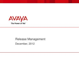 Release Management