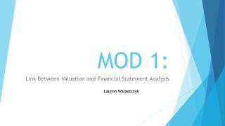 MOD 1: