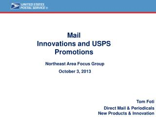Mail Innovations and USPS Promotions