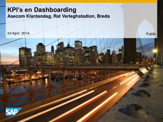 KPI's en  Dashboarding Asecom  Klantendag , Rat  Verleghstadion , Breda