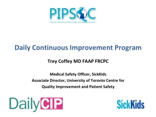 Daily Continuous Improvement Program