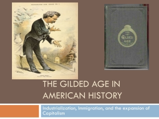 The Gilded Age in American History