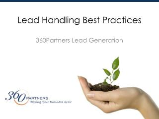 Lead Handling Best Practices
