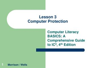 Lesson 3 Computer Protection