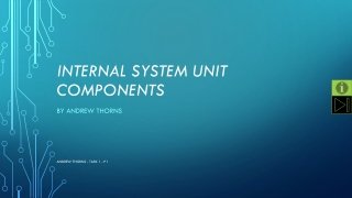 Internal system unit components