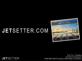 JET SETTER.COM