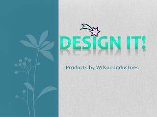Products by Wilson Industries