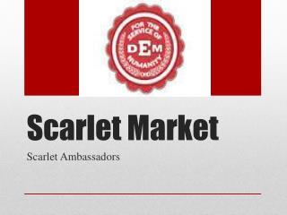 Scarlet Market
