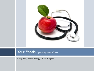 Your Foods   Specialty Health Store