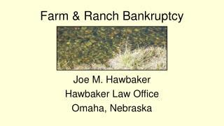 farm  ranch bankruptcy
