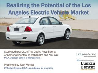 Realizing the Potential of the Los Angeles Electric Vehicle Market