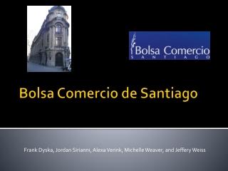 Bolsa Comercio  de Santiago