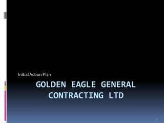 Golden eagle general contracting ltd