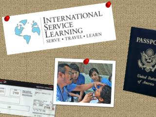 International Service Learning