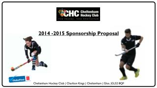 2014 -2015 Sponsorship Proposal