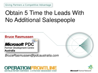 Obtain 5 Time the Leads With No Additional Salespeople