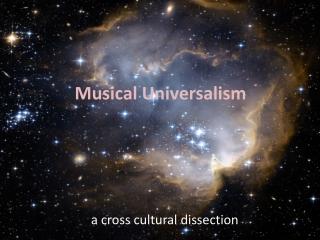 Musical Universalism