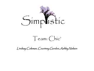 Team: Chic'