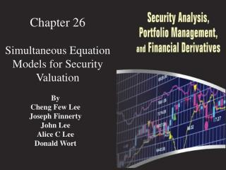 Chapter  26 Simultaneous Equation Models for Security Valuation