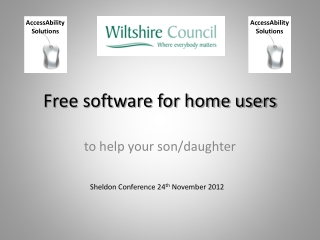 Free software for home users
