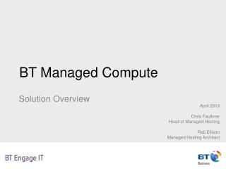 BT Managed Compute