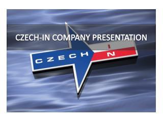 CZECH-IN COMPANY PRESENTATION