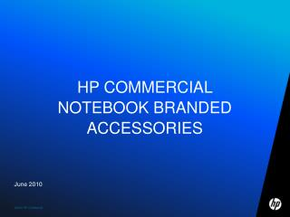 HP COMMERCIAL NOTEBOOK BRANDED ACCESSORIES
