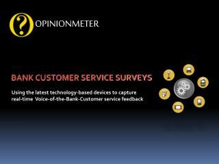 Bank Customer Service Surveys