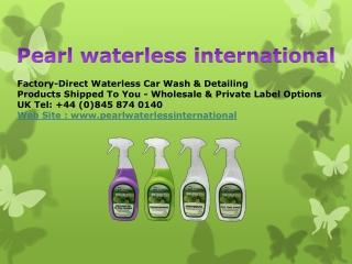 pearl waterless international