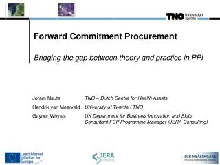 Forward Commitment Procurement