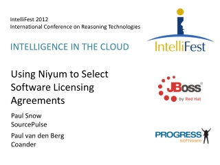 IntelliFest  2012 International Conference on Reasoning Technologies