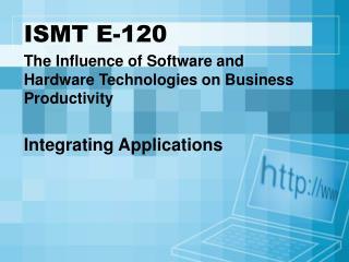 ISMT E-120