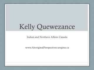 Kelly  Quewezance