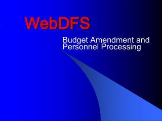 WebDFS