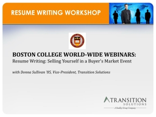 ppt mba resume workshop powerpoint presentation id 1103478