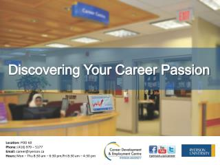 Discovering Your Career Passion