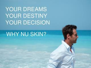 YOUR DREAMS YOUR DESTINY YOUR DECISION