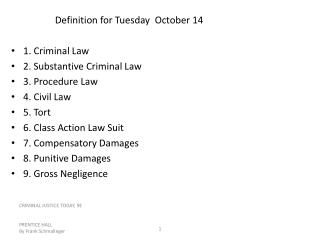 Definition for Tuesday  October 14
