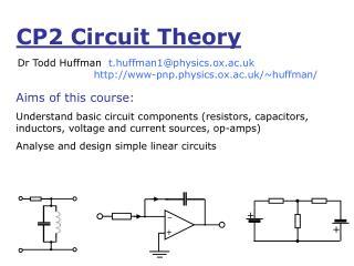 CP2 Circuit Theory