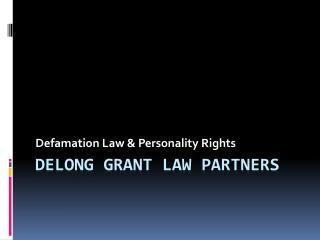 Delong Grant Law Partners