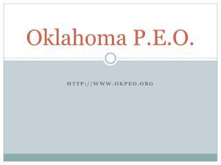 Oklahoma P.E.O.