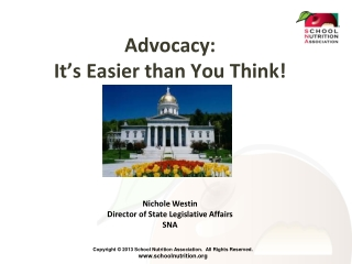 Advocacy: It's Easier than You Think!