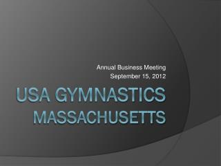 USA gymnastics massachusetts
