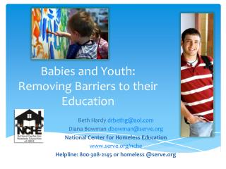 Babies and Youth: Removing Barriers to their Education