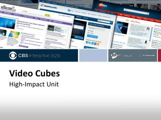 Video Cubes